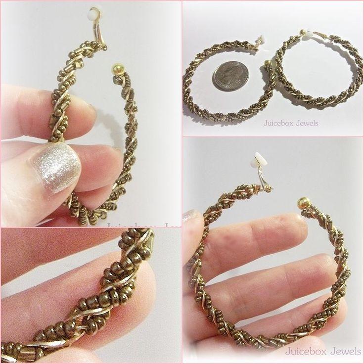 Non Pierced Hoop Earrings Non Pierced Hoop Earrings Gold ...
