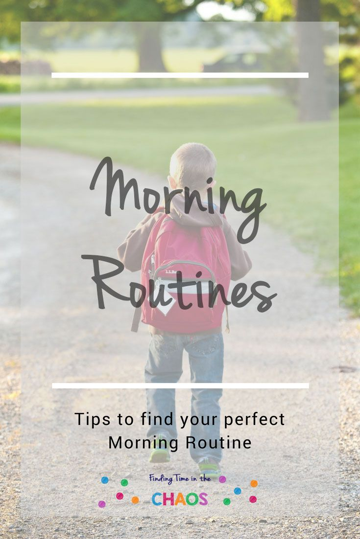 Need some tips on getting out the door with out too much hassle. Check out some tips over at my blog http://findingtimeinthechaos.com.au/morning-routines/