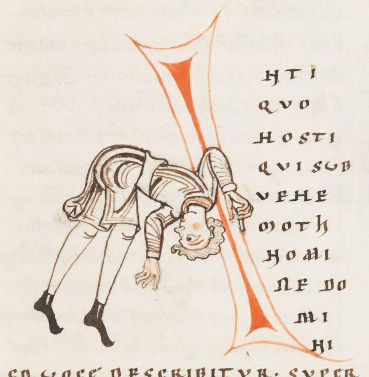 Engelberg, Stiftsbibliothek, Cod. 23: Gregorius M., Moralia in Job, t. IV · 1143-1178 Langue: Latin (http://www.e-codices.unifr.ch/fr/list/one/bke/0023)