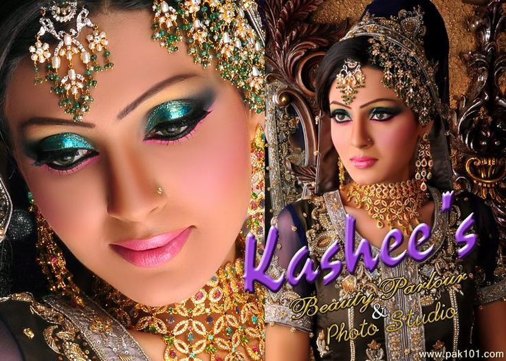 Best Bridal Makeup Parlour : Kashees Beauty Parlour Bridal makeup Pinterest D ...