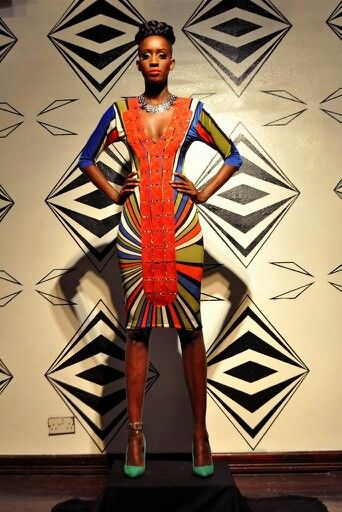 Multicoloured Embroidered Bodycon #SteppingOutInStyle