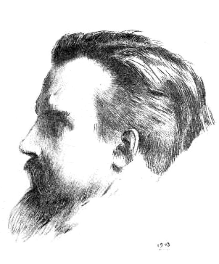 Морис Дени. Литография Одилона Редона, (1903)