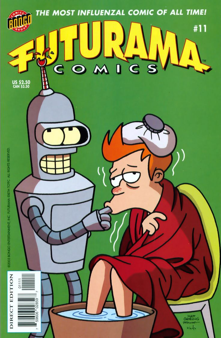 Futurama Comics Issue #11 - Read Futurama Comics Issue #11 comic online in high quality aww