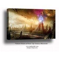 'Future Vision of Paris' by Tomasz Maroński