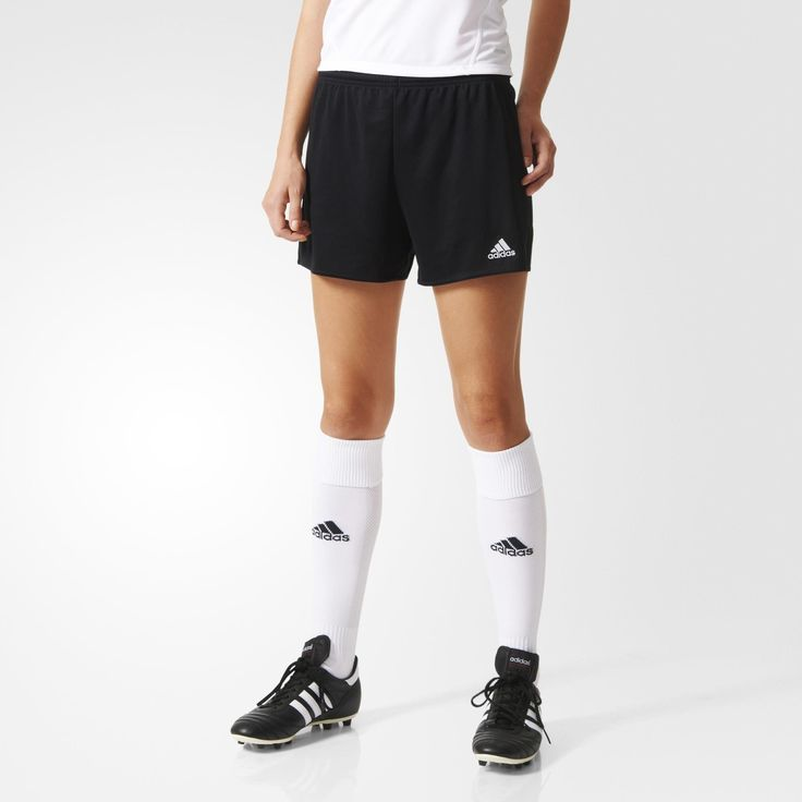 These women's soccer shorts are built to keep you dry and comfortable so you can focus on honing your skills. Their climalite® fabric sweeps sweat away from your skin, keeping you comfortable for 90 minutes and beyond.