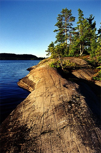 1 of the 1000 + islands in Temagami Ontario