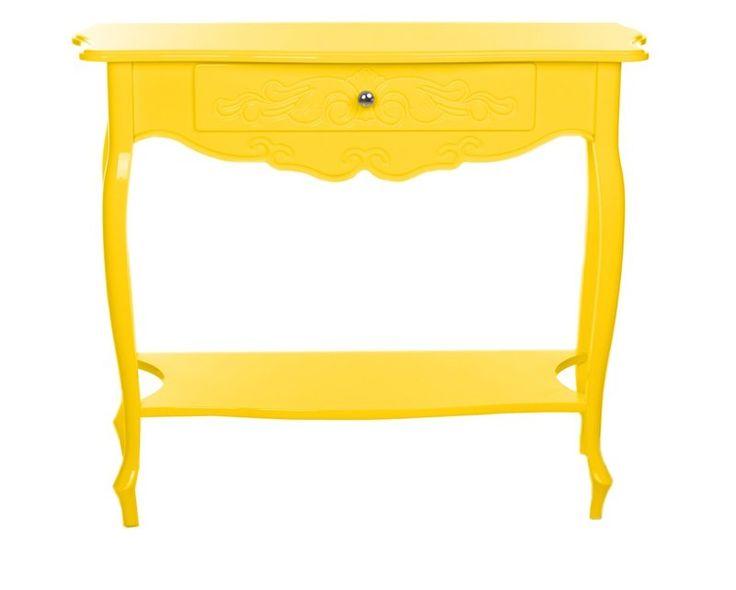 Aparador Retrô Valentina Amarelo - DecoraGram - Móveis, decoração retrô, design e vintage pra você!