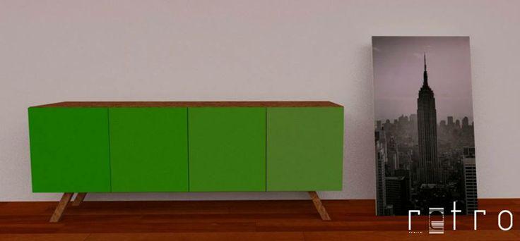 Ambicionamos que este conceito valorize uma época e um material, atribuindo um novo carácter ao mobiliário, e que este se assuma como uma peça de arte, de design retro contemporâneo.