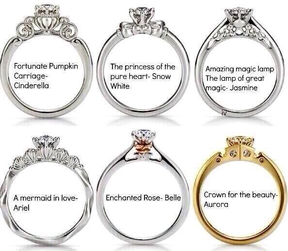 Disney came out with Princess engagement rings