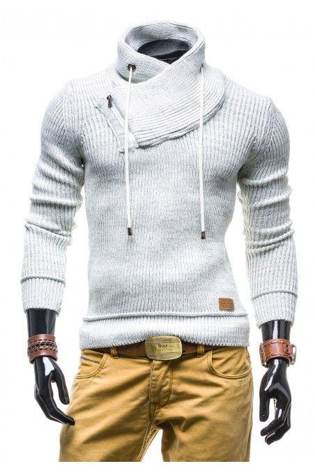 Pánský svetr BOLF bílý
