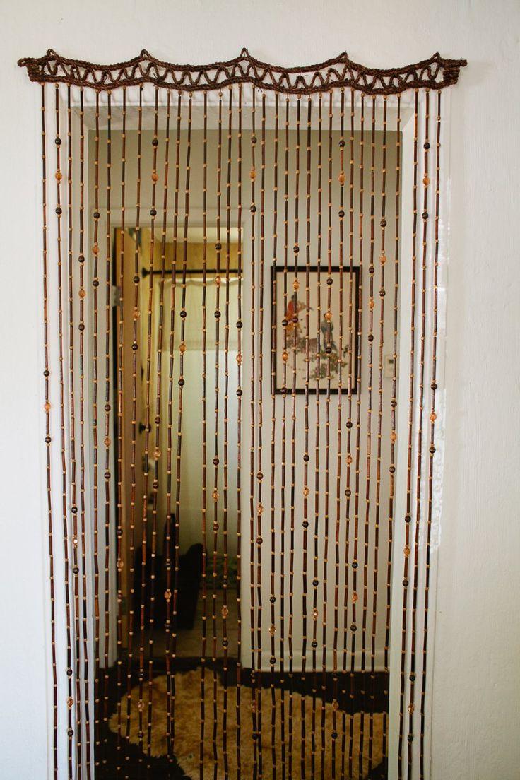 Clear door beads - Beaded Door Curtain