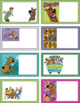 Scooby Doo Gift Tags, Scooby, Gift Tags - Free Printable Ideas from Family Shoppingbag.com