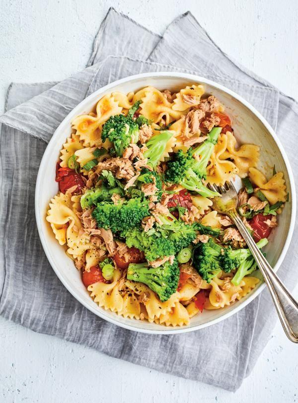 Salade tiède de pâtes au thon et au brocoli #ricardocuisine #pasta