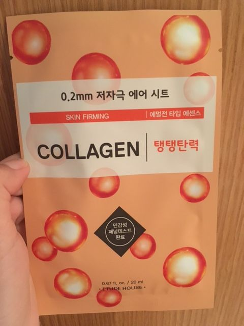 Etude House Collagen Face Mask sheet