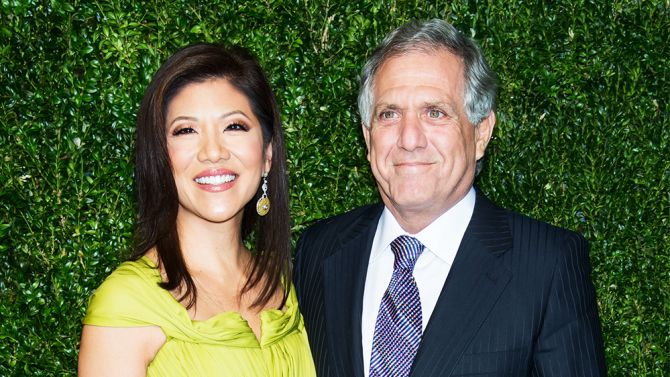 Julie Chen is a prominent CBS television personality - The CBS Morning News and The Talk.  She is a graduate of the University of Southern California.  USC's Annenberg Media Center will be named after Julie  and Leslie Moonves, her husband.