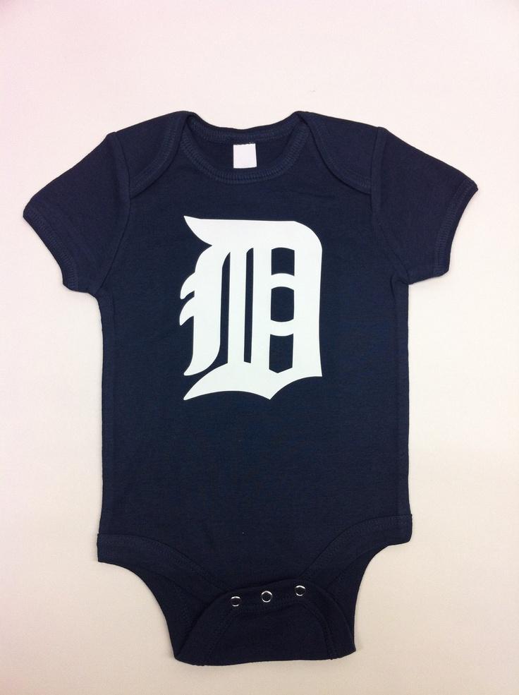 Detroit Tigers Onesie