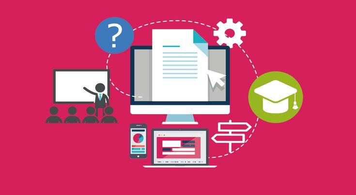 La formation en ligne pour les entreprises. E-learning, e-formation, e-training, MOOC, COOC, SPOC, serious-games, web-séminaires … autant de termes pour désigner la formation et l'apprentissage en ligne qui font parties des nouvelles technologies de l'éducation et de la pédagogie. Cela correspond à une évolution et une transformation des usages qui trouvent un écho intéressant sur les médias sociaux.