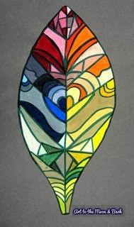 Art to the Moon & Back:  Color Wheel, grade 6, tempera paint
