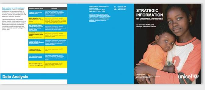 custom report design - 3 fold brochurs