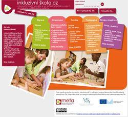 Portál, který vychází z principů inkluzivního vzdělávání při začleňování žáků-cizinců od sdružení META.