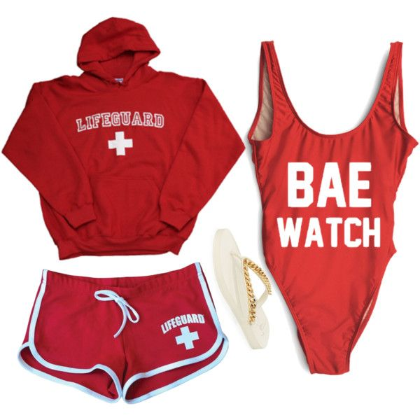 Halloween Costume #8: Lifeguard // Baewatch