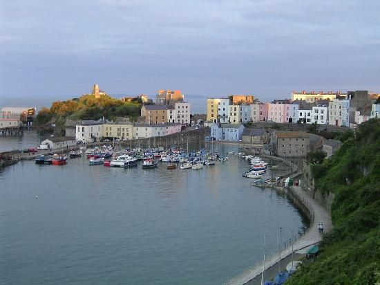 Tenby, 3 holidays when Louie and Mollie were little :-)