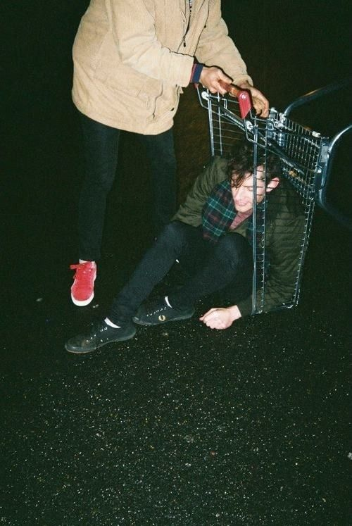 """""""Get out of the cart."""" Get out of my life!"""" He was then thrown across the parking lot."""