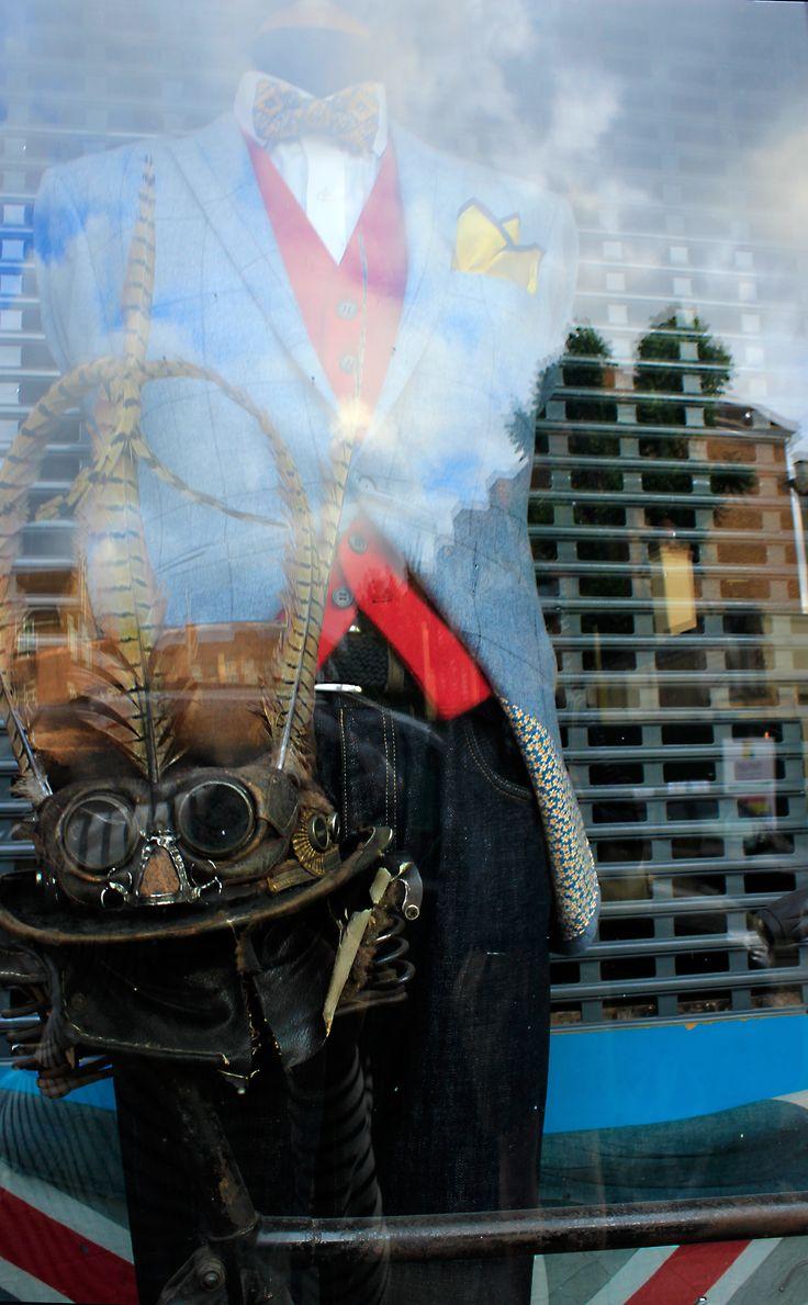 #steampunk #costume #vintage #London #NottingHill #PorotbelloRoad