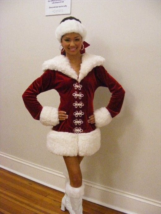 Some beauty pageants might have a holiday wear category.