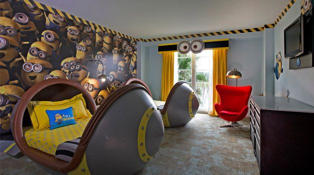 Portofino Bay Hotel in Orlando, Florida | 16 Hotels That Will Blow Your Kids' Minds