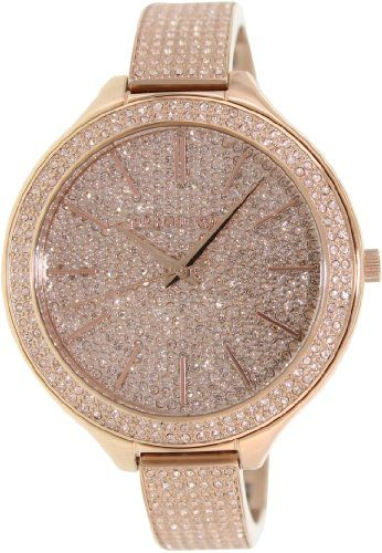 Michael Kors Runway Pink Crystal-set Dial Pink Gold-tone Ladies Watch MK3251 - http://www.specialdaysgift.com/michael-kors-runway-pink-crystal-set-dial-pink-gold-tone-ladies-watch-mk3251/