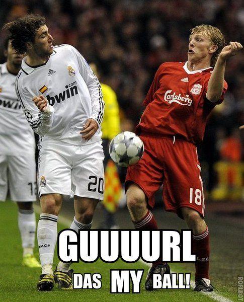 I always said soccer was gay.