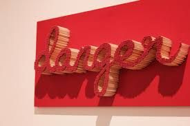 Image result for typographic sculpture