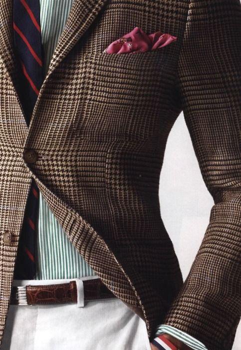 More tweed