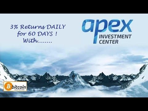 APEX INVESTMENT - HYIP introduction & review how to get paid 3% per day ...