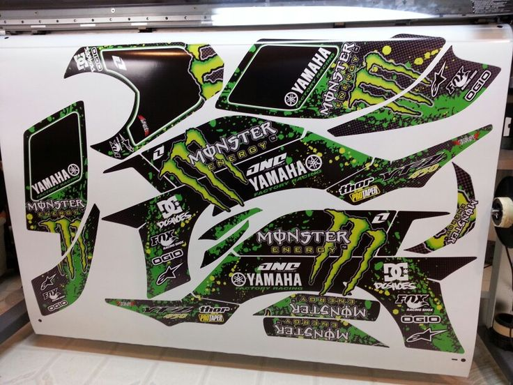 Yamaha Yfzr Graphics Kit