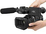 パナソニック、4K/60p記録の最上位ビデオカメラ「HC-X1000」