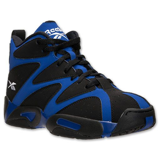 Men's Kamikaze I Basketball Shoes. 20 years after the original release of the Reebok Kamikaze I Basketball Shoes, Shawn Kemp's shoe is back and better than ever. With a design to match Kemp's larger than life persona, these sneakers are a retro basketball fan's dream. Storm the court just like Kemp in his heyday in the Kamikaze I's, which feature Hexalite cushioning for a plush, responsive feel underfoot. The iconic zigzag upper is sure to stand out from the crowd, while leather and suede…