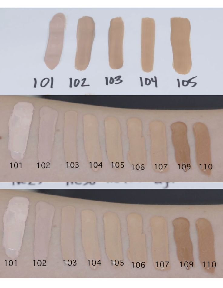 L'Oreal Infallible Pro Matte Foundation Swatches