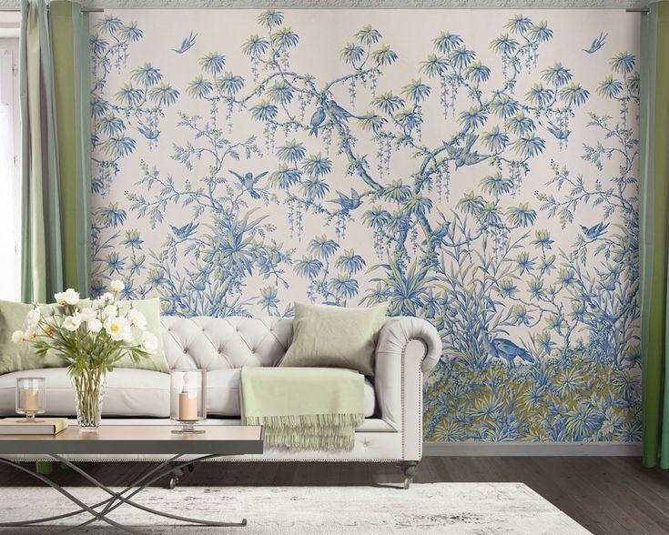 les 25 meilleures id es de la cat gorie papier peint panoramique sur pinterest art mural vert. Black Bedroom Furniture Sets. Home Design Ideas