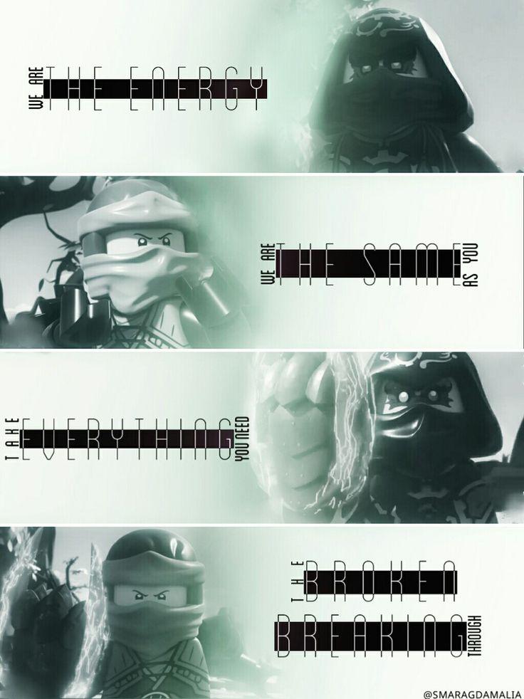 "• #LEGO #LEGONinjago #Ninjago • [""The Energy by Audiovent""] #lyrics • #Lloyd #LloydGarmadon #Acronix • My Edit. Hope you'll like it! :-)"