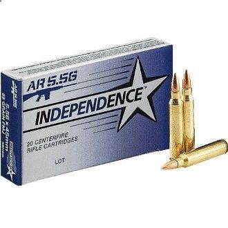 Independence 5.56x45 This ammo is made in Israel and made to military specs. It can be purchased from www.GrizGuy.com