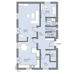Haus Zieglmeier – Erdgeschoss