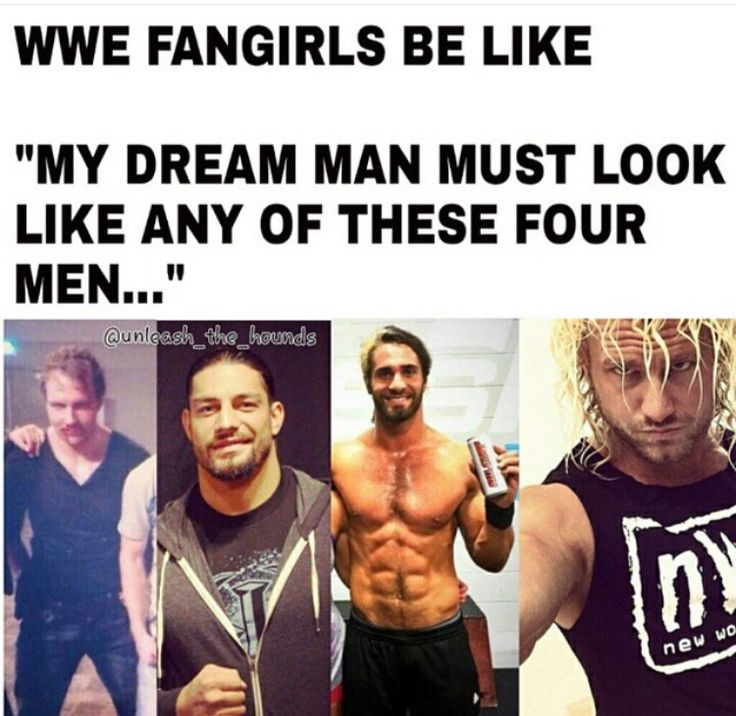 I will take Roman, Dean & Dolph in that order. Sorry Seth you lose.
