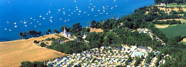 Camping bretagne 4 etoiles situé à Vannes dans le Golfe du Morbihan.