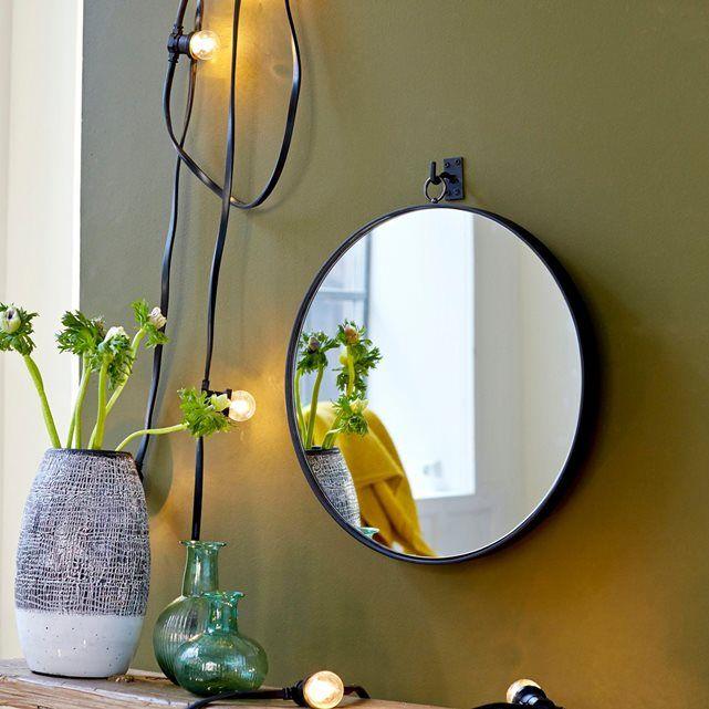 Miroir en bois de chêne easy 120x50