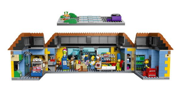 Last year The Simpsons' house was LEGO-ized. Now they've got the beloved Kwik-E-Mart joining them this May for $200. The set consists of over 2,000 pieces including Apu, Homer, Bar, Marge, Chief Wiggum, and Snake the Jailbird minifigs.
