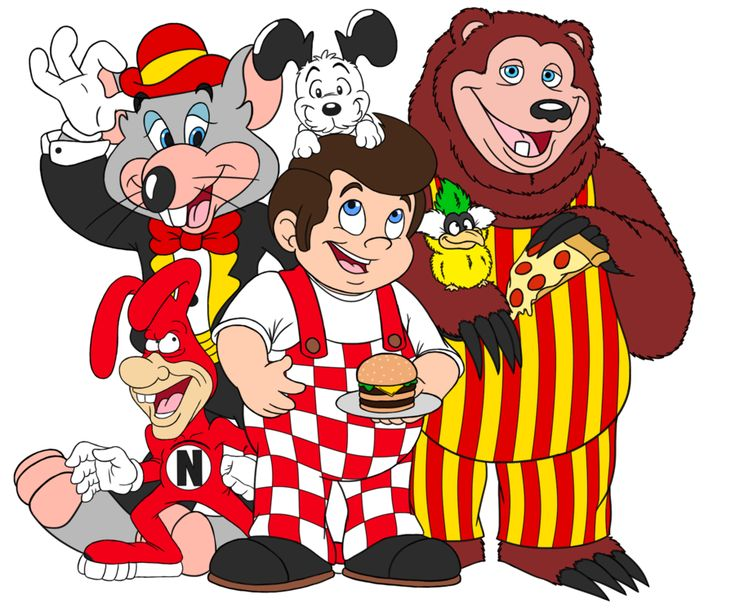 Obscure Fast Food Mascots