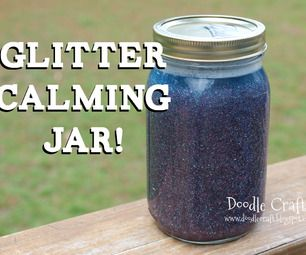 DIY Calming Glitter Jars Perhaps a good prop to help teach kids about meditation and focus?  Or perhaps a good tool to keep little ones calm and quiet during ritual.