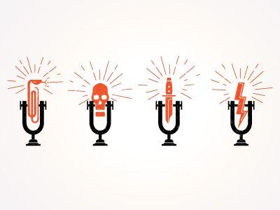 Radio station icons